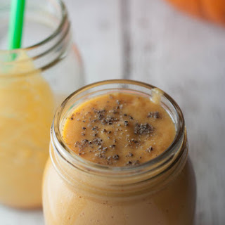 Pumpkin Pineapple Protein Smoothie.