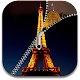Paris Zipper Eiffel Tower