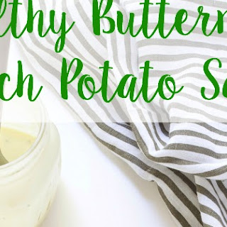 Healthy Buttermilk Ranch Potato Salad