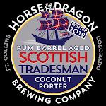 Horse & Dragon Winter 2019 Rum Barrel Aged Scottish Tradesman Coconut Porter