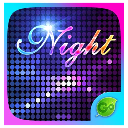 Night GO Keyboard Theme