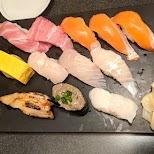 sushi in Tokyo, Tokyo, Japan