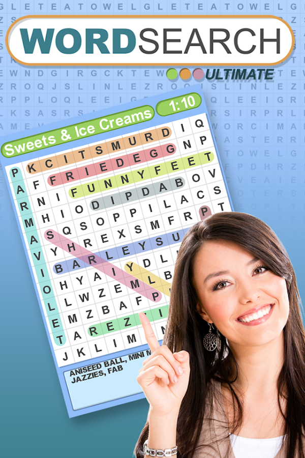 Word Search Ultimate- screenshot