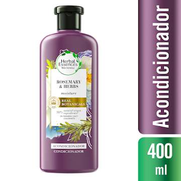 Acondicionador Herbal Essences Bio:Renew Rosemary & Herbs 400 ml