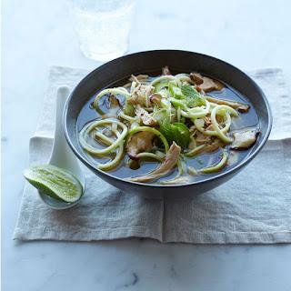 Zucchini Noodle Faux Pho