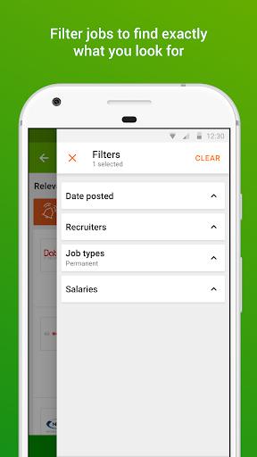 Totaljobs - UK Job Search app screenshot 3