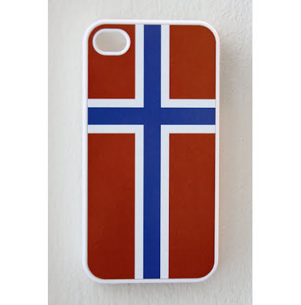 Flagga Norge - iPhone 4/4S Cover
