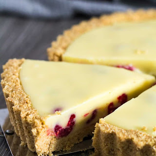 White Chocolate Raspberry Tart Recipe