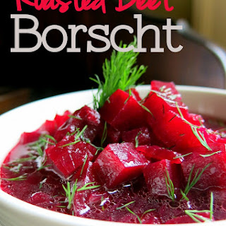 Roasted Beet Borscht