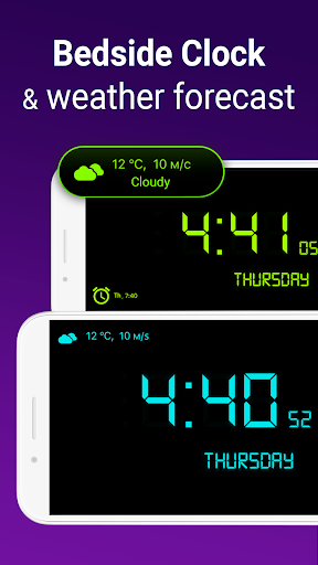 Alarm Clock with Ringtones for free screenshot