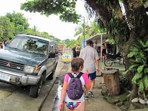 Photo: Walking through Puerto Jimenez - typical small Costa Rican town.