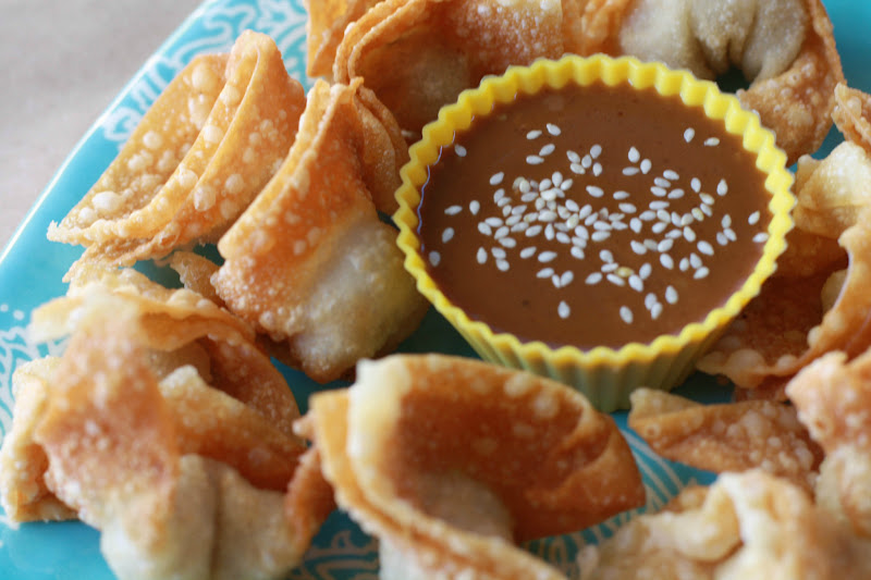 Photo: and YUM! These were sooooo good along with the Toasted Sesame Pourables Sauce!