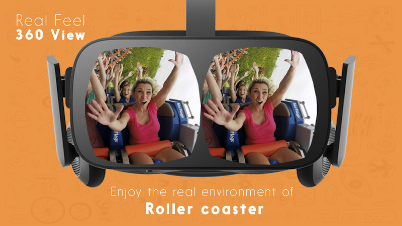 Roller Coaster 360 VR Cheat APK MOD Free Download 1