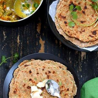 Lauki Paratha - Spiced Opo Squash / Zucchini Wheat Flatbread