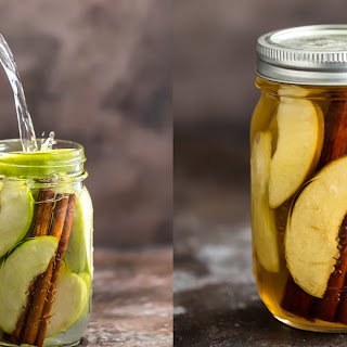 Homemade Apple Pie Vodka (PLUS Apple Pie Spritzer!).