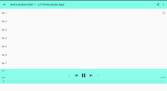 WATA KUSAN AUDIO MP3 - náhled