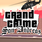 Grand Crime - San Andreas icon