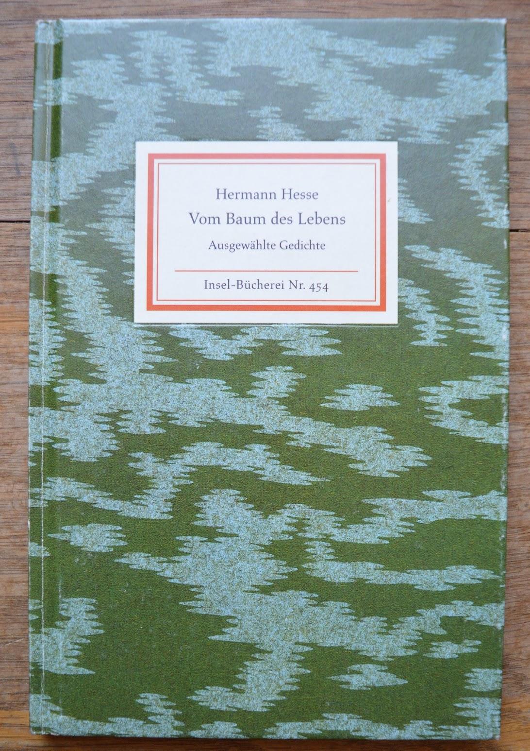 Insel-Buch - Hermann Hesse - Vom Baum des Lebens