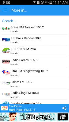 Radio Indonesia - screenshot