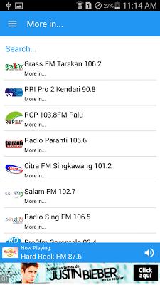Radio Indonesia - screenshot