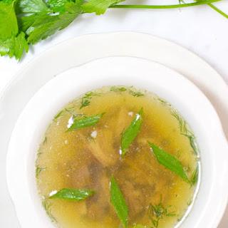 Homemade Lamb Soup