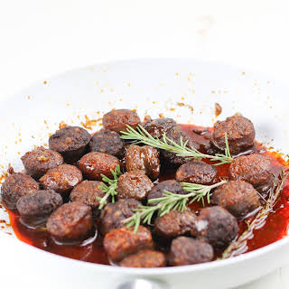 Chorizo in Red Wine with Rosemary.