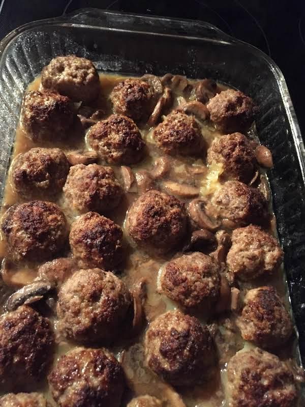Marsala Meatballs Recipe