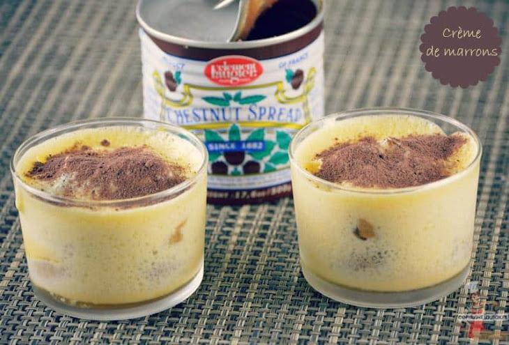Chestnut Cream Tiramisu Recipe