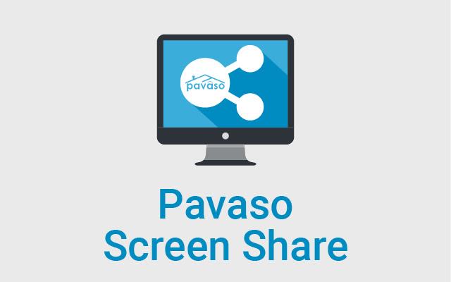 Pavaso Screen Share