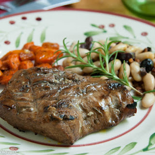 Rosemary Balsamic Pork Tenderloin Steaks.