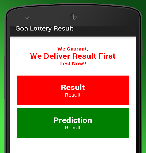 Goa Lottery Result