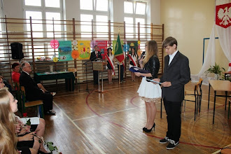 Photo: Zakończenie roku szkolnego klas I-II