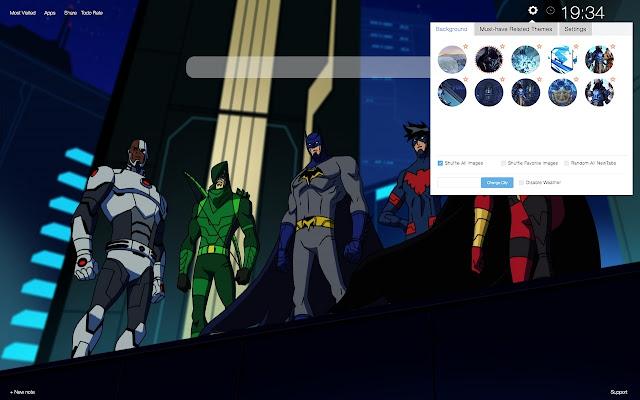 Batman Unlimited HD Wallpapers New Tab