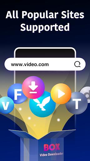 BOX Video Downloader: private download video saver 1.4.8 screenshots 1