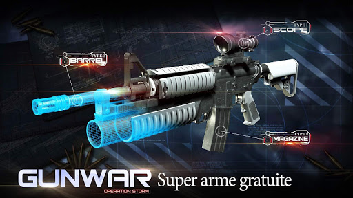 Gun War: Shooting Games  captures d'écran 4