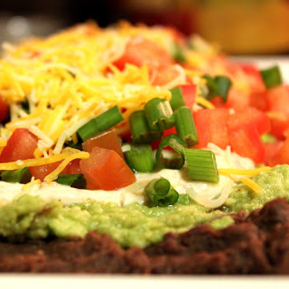 Guilt-Free, Healthy 7 Layer Bean Dip
