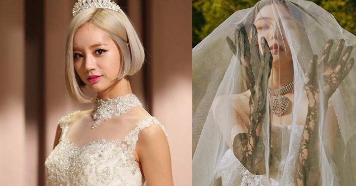 7 Girl Groups Who Had A Wedding Dress Comeback Concept Koreaboo