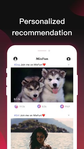 MixFun -  Funny videos & pics sharing community 3.5.3 screenshots 2