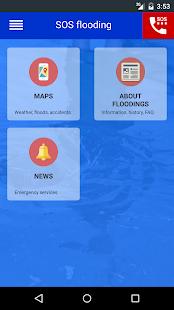 SOS flooding - náhled