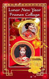 Lunar New Year Frames Collage - náhled