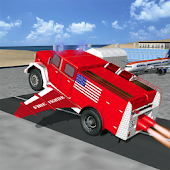 Flying Firefighter Truck 2016
