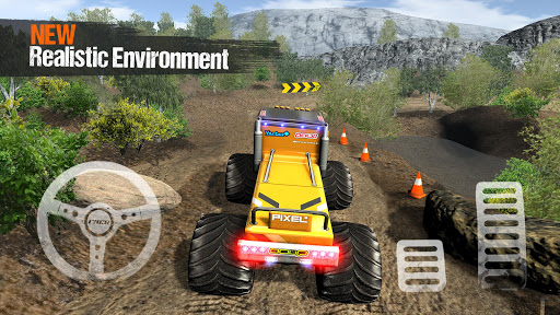 Offroad 4x4 Monster Truck Extreme Racing Simulator 1.1 screenshots 1