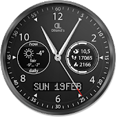 Diland's companion HD watch face