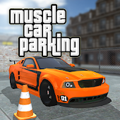PARKING MUSCLE CAR
