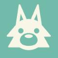 オオカミのアイコン画像