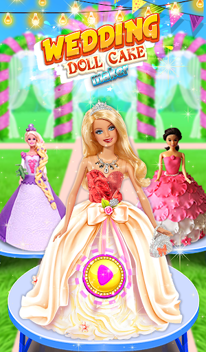 Wedding Doll Cake Decorating 3.3 screenshots 7
