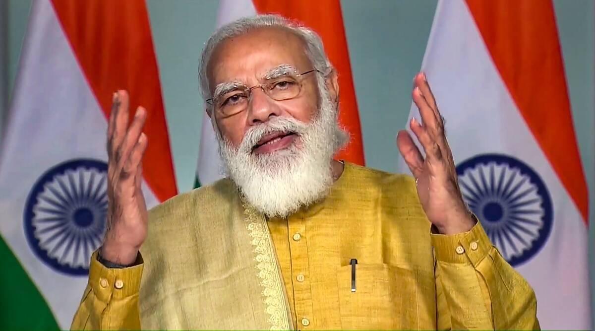 Prime minister of India Shri Narendra Modi