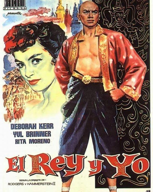 El rey y yo (1956, Walter Lang)