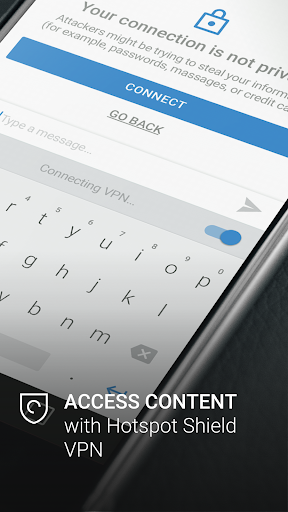 Hotspot Shield Secure Keyboard screenshot 1