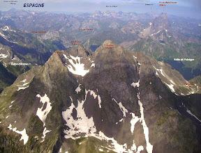 Photo: Vision annotée sur le Lurien (en été)